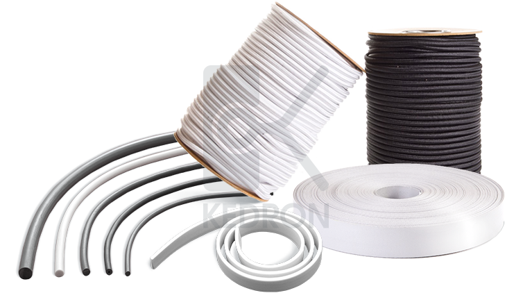 PVC products and elastic ropes